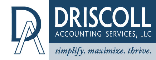 driscoll accounting logo robbinsdale mn